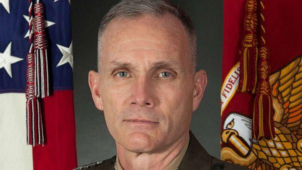 PHOTO: An undated official photo of the Assistant Commandant of the Marine Corps Gen. Gary L. Thomas. (U.S. Marine Corps. via Reuters)