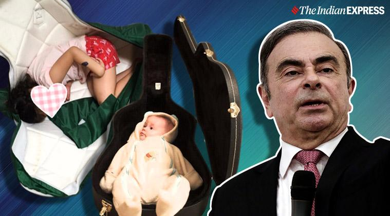 carlos ghosn, playing ghosn, ghosn escape challenge, Carlos Ghosn challenge, ghosn escape japan in musical instrument case, yamaha ghosn warning, viral news, business news, indian express