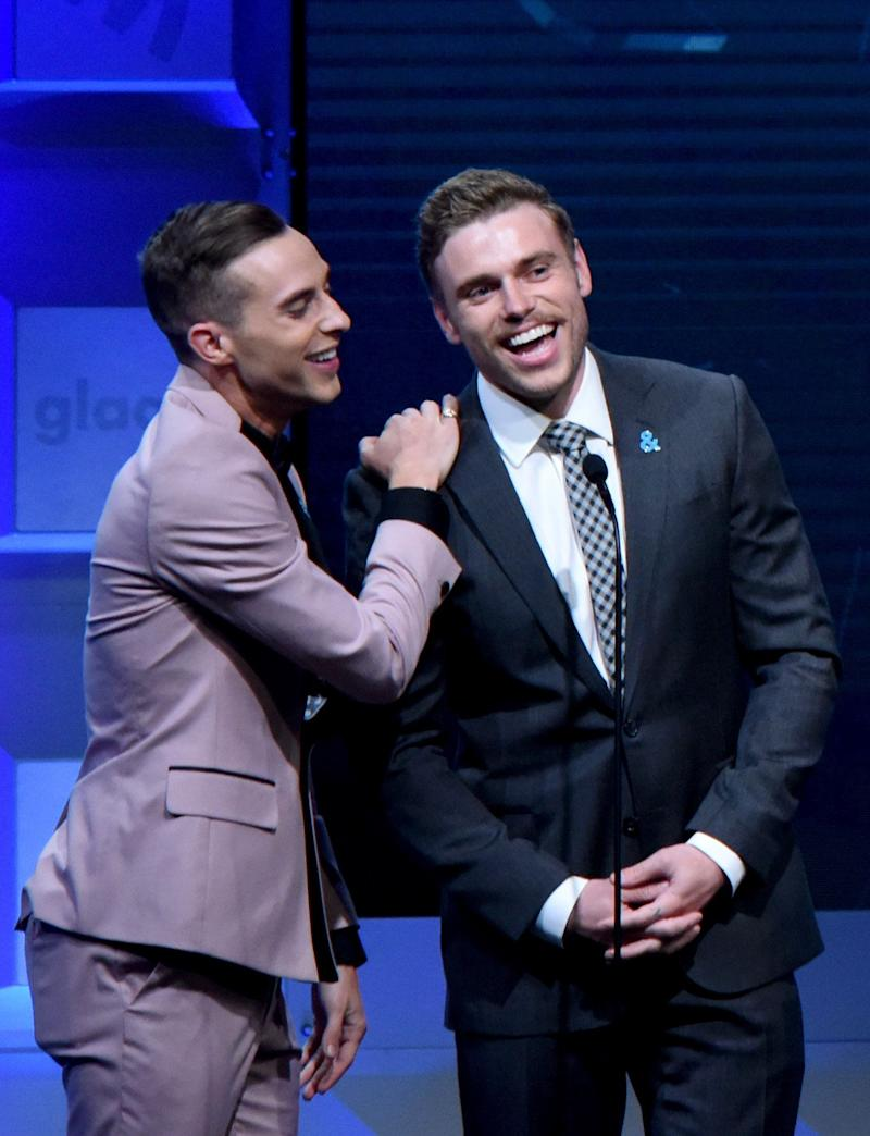 Adam Rippon and Gus Kenworthy