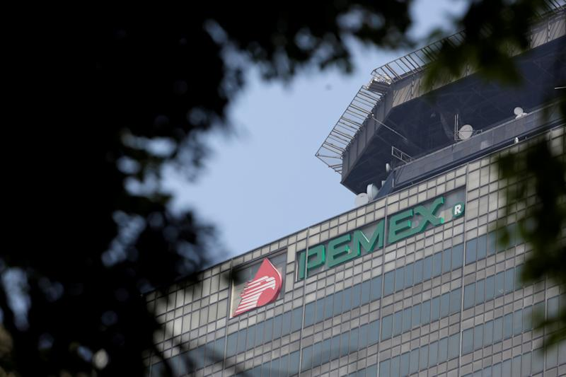 FILE PHOTO: A view of the headquarters of state owned oil company Pemex in Mexico City