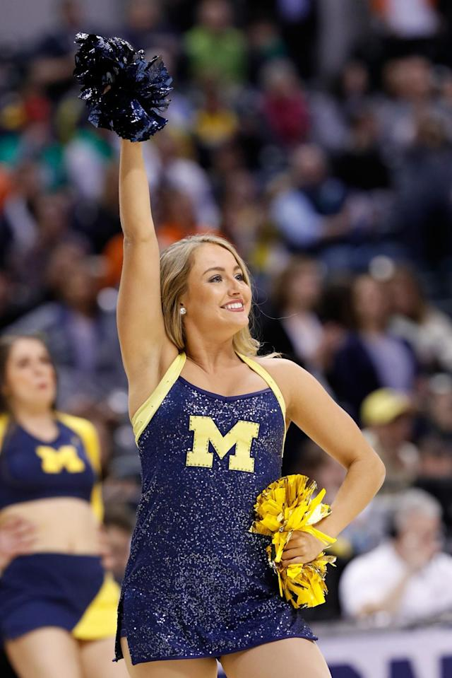 <p><strong>8. Michigan</strong><br>Top 2017-18 sport: men's basketball. Trajectory: Steady. After being outside the top 12 in 2014 and '15, Wolverines now have finished in the top six three years in a row. Only Ohio State scored more points in winter sports nationally, but Michigan hasn't won a team national title in any sport since 2014. </p>