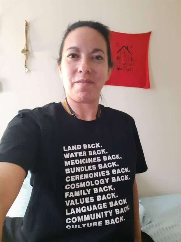 Former Langevin School Indigenous student Heather Lucier says she'd like the school board to consider how the school's name impacts Indigenous students.