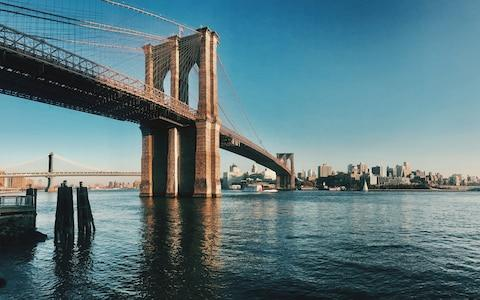When the Brooklyn Bridge was completed in 1883 it was the longest suspension bridge in the world - Credit: This content is subject to copyright./Serena Rossi / EyeEm