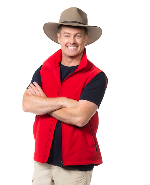 Grant Denyer has won I'm A Celebrity... Get Me Out Our Here! 2021. Photo: Channel 10.