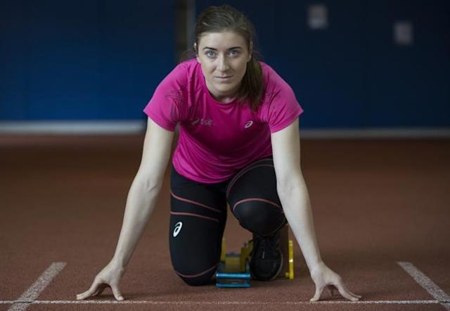 The Scottish sprinter was disqualified from the T11 200m semi-finals at the World Para Athletics Championships in Dubai