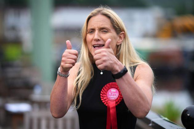 Kim Leadbeater, Labour's new MP for Batley and Spen (Photo: Christopher Furlong via Getty Images)