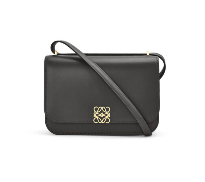 """<p><strong>Loewe</strong></p><p>loewe.com</p><p><strong>$3650.00</strong></p><p><a href=""""https://www.loewe.com/usa/en/women/bags/goya/goya-bag-in-silk-calfskin/A896N01X03-1100.html?p=6"""" rel=""""nofollow noopener"""" target=""""_blank"""" data-ylk=""""slk:Shop Now"""" class=""""link rapid-noclick-resp"""">Shop Now</a></p><p>There's nothing like a daily fix of designer fashion, so we love a bag that we can wear everywhere. We predict this sophisticated silhouette by Loewe to quickly become the next It bag so act fast.</p>"""