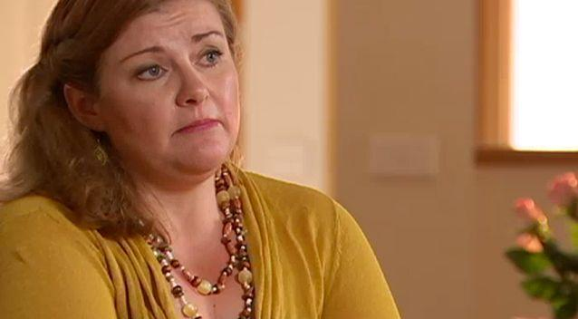 Former employee Karen Burgess re-stated her allegations against ASPECT on ABC's 7.30 on Wednesday. Photo: ABC