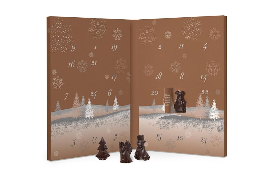"""<p>Did you know that Hotel Chocolat have their own genre of chocolate? With the creaminess of traditional milk and less sugar than a typical dark, the 'supermilk' may just be your new favourite.<br><a rel=""""nofollow noopener"""" href=""""http://www.hotelchocolat.com/uk/the-advent-calendar-supermilk.html#start=2"""" target=""""_blank"""" data-ylk=""""slk:Hotel Chocolat, £12.50"""" class=""""link rapid-noclick-resp""""><i>Hotel Chocolat, £12.50</i></a> </p>"""