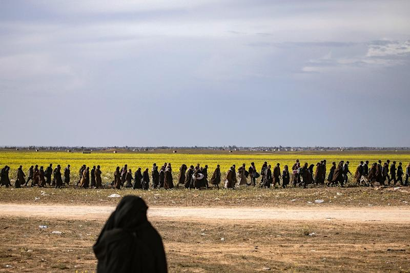 The Syrian Democratic Forces say more than 5,000 jihadists have been captured since January