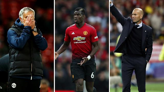 Jose Mourinho, Paul Pogba and Zinedine Zidane could all be on the move.