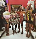 """<p>Gather your squad and dress up as your favorite drunk foods.</p><p><a href=""""https://www.instagram.com/p/BLCxnXHhm0M"""" rel=""""nofollow noopener"""" target=""""_blank"""" data-ylk=""""slk:See the original post on Instagram"""" class=""""link rapid-noclick-resp"""">See the original post on Instagram</a></p>"""