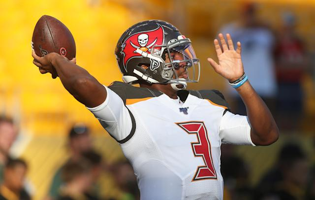 Jameis Winston and Bruce Arians could be a match made in fantasy heaven. Mandatory Credit: Charles LeClaire-USA TODAY Sports