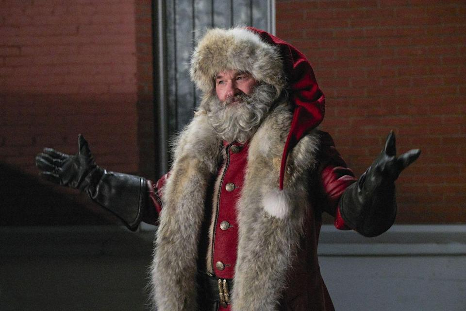 <p>Long-term real-life couple Kurt Russell and Goldie Hawn play long-term North Pole couple Santa and Mrs. Klaus in this good old-fashioned, family-oriented holiday adventure. The plot follows a couple of kids who stowaway in St. Nick's sleigh and then have to help him save Christmas when disaster strikes. <em>The Christmas Chronicles: Part Two </em>is landing this holiday season.</p>