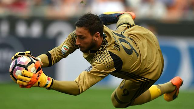 Vincenzo Montella has sung the praises of Gianluigi Donnarumma, and hopes to emulate Carlo Ancelotti at AC Milan.