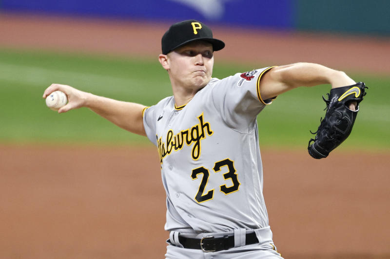 Pirates' Keller out after 5 no-hit innings against Indians