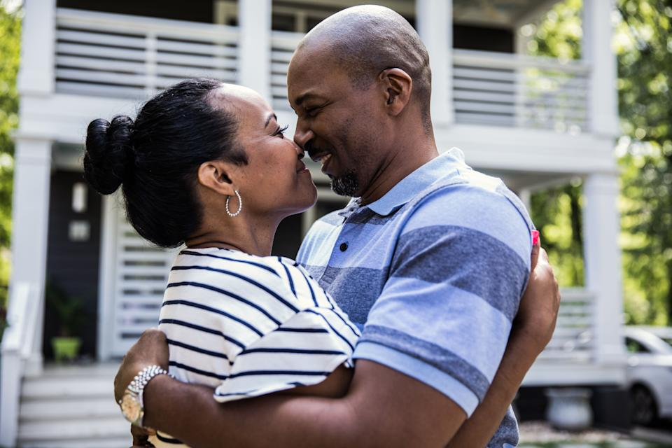 Here's how to prioritizeemotional intimacy and closeness — and improve your sex life in the process. (Photo: MoMo Productions via Getty Images)