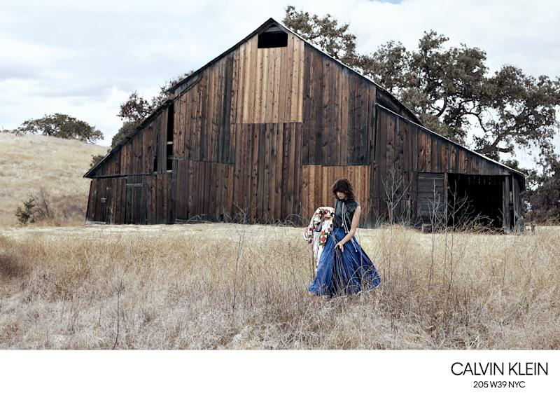 Calvin Klein Goes Country For Spring 2018 Campaign