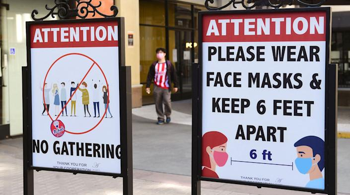 New study finds Covid cases were potentially ciruclating in US as early as December 2019 (AFP via Getty Images)