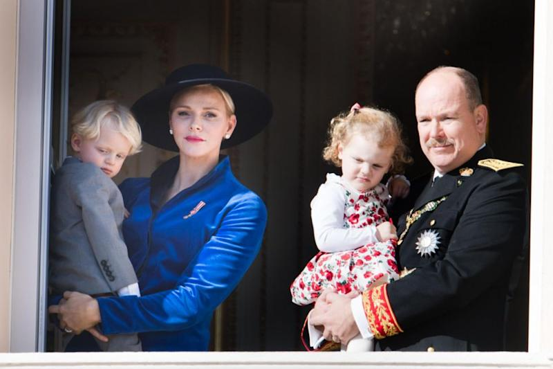 Princess Charlene and Prince Albert of Monaco's twins are just like any other two-year-old toddlers. Photo: Getty Images