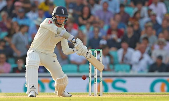 """<span class=""""element-image__caption"""">Sam Curran cuts for four during the fifth Ashes Test at the Oval in 2019.</span> <span class=""""element-image__credit"""">Photograph: Mitchell Gunn/REX/Shutterstock</span>"""