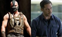 <p>Tom Hardy famously played Bane in <em>The Dark Knight Rises</em> but he'll soon be seen as Eddie Brock in the <em>Venom</em> movie. </p>