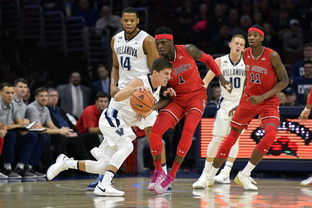 St. John's scored its second consecutive remarkable upset on Wednesday, this time over No. 1 Villanova. (Getty)