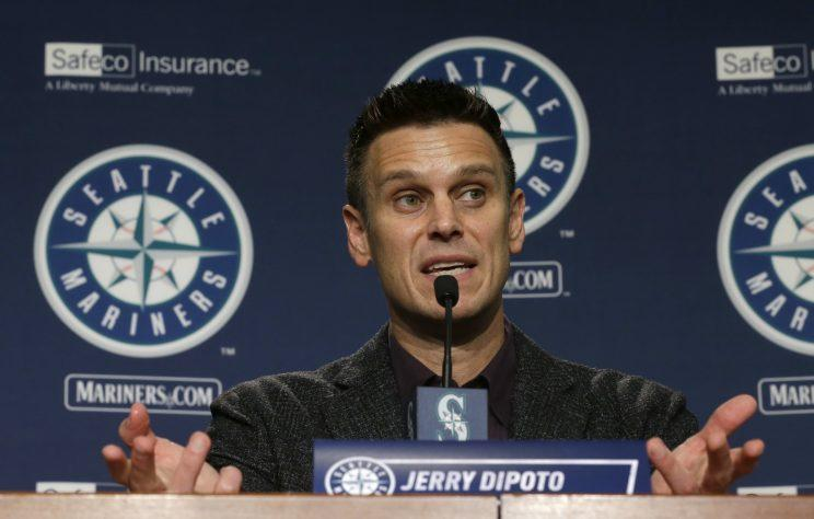 Mariners GM Jerry Dipoto keeps making trades. (AP)