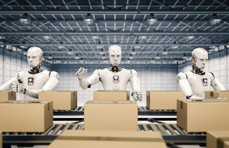 "<span class=""caption"">The future of automated labour may not spell the end of human employment.</span> <span class=""attribution""><span class=""source"">(Shutterstock)</span></span>"