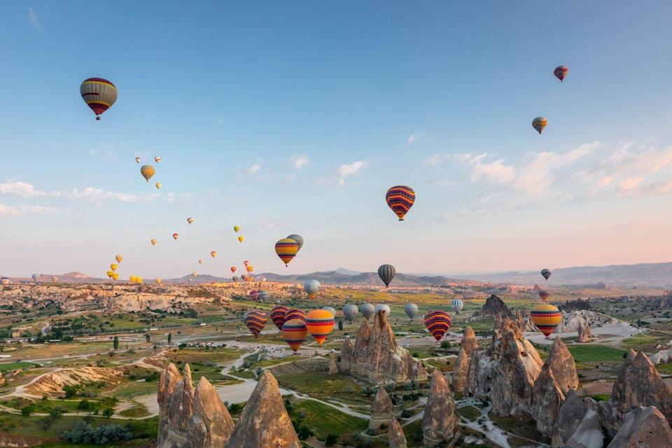 <p>If sun is what you're after then Turkey is the right destination – being closer to the Equator and the African continent, temperatures can rise to around 30+ degrees during the summer months. </p>