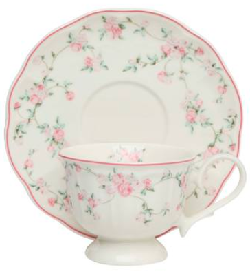 "The rose-print <a href=""https://fave.co/2SEGz1h""><strong>La Vie En cup and saucer by Devon North</strong></a>. <em>Rs.599. </em><a href=""https://fave.co/2SEGz1h""><strong>Buy here!</strong></a>"