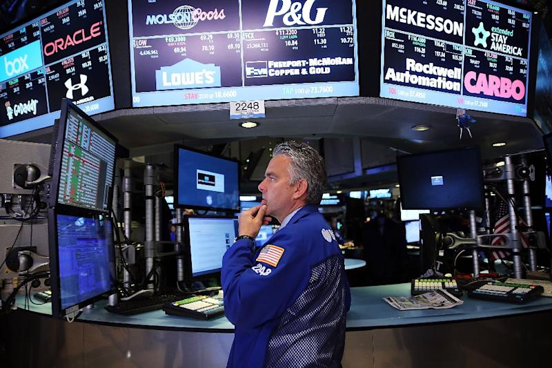 The Dow Jones Industrial Average finished down 358.04 points (2.06 percent) at 16,990.69