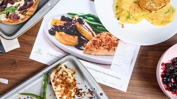 Dad will love Home Chef's delicious, easy-to-follow recipes.