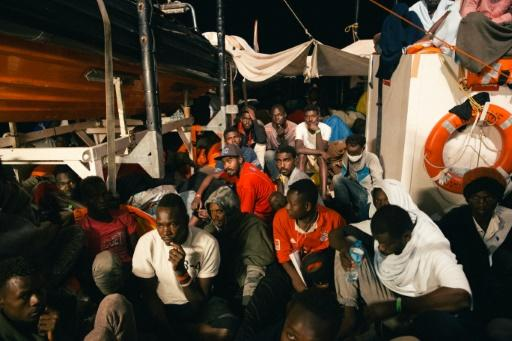 The Lifeline ship docked in Malta Wednesday after nearly a week in Mediterranean limbo amid deep divisions in Europe over migration policy