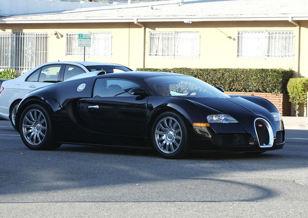 <strong>Simon Cowell </strong><br /><strong>Bugatti Veyron</strong><br /><strong>Estimated Base Price:$1 Million</strong> <br />Never heard of a Bugatti Veyron? That's probably because you'll never be in the market for one. Though the million-dollar ride can go up to 268 miles per hour, music mogul Simon Cowell is typically snapped sitting still in L.A. traffic while behind the wheel.