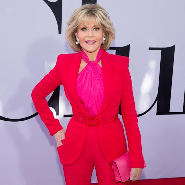 Jane Fonda at the <em>Book Club</em> premiere in L.A. on May 6, 2018. (Photo: GP/Star Max/GC Images)