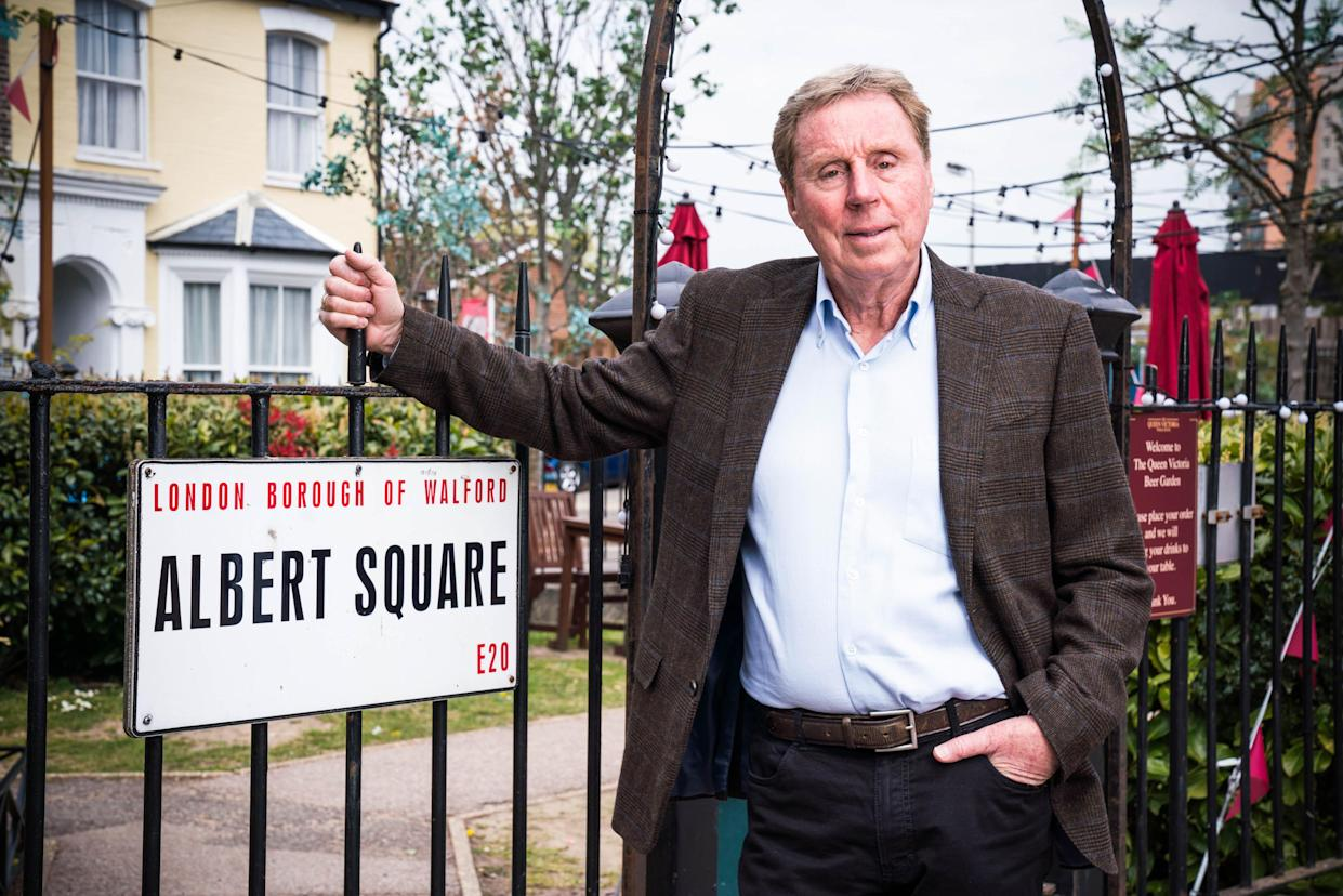 Harry Redknapp made a recent cameo in the soap. (BBC)