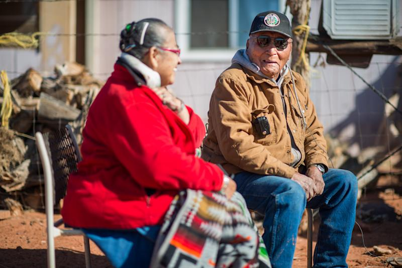 Navajo families receive electricity for first time