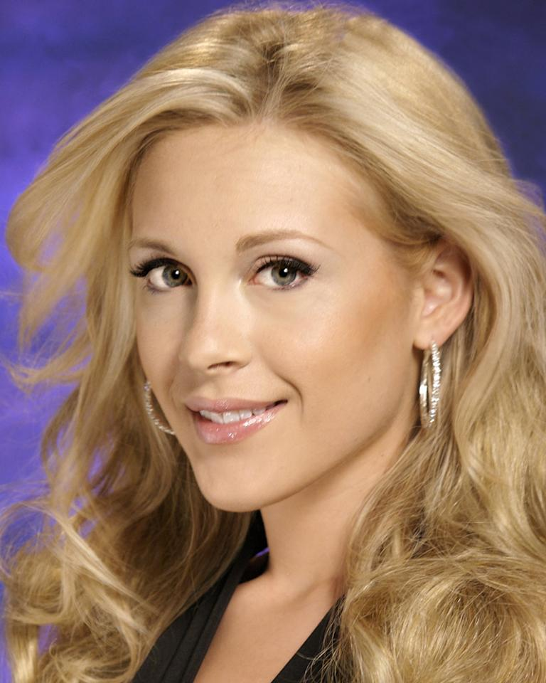 """Miss Maryland, Louise Schlegel, is a contestant in the <a href=""""/miss-america-countdown-to-the-crown/show/44013"""">Miss America 2009 Pageant</a>."""