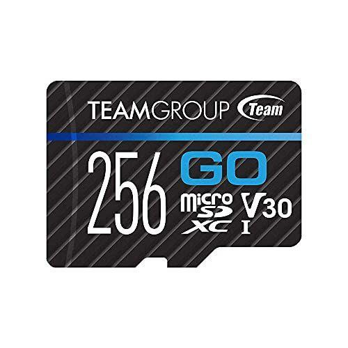 """<p><strong>TEAMGROUP</strong></p><p>amazon.com</p><p><strong>$23.99</strong></p><p><a href=""""https://www.amazon.com/dp/B0897BBCYP?tag=syn-yahoo-20&ascsubtag=%5Bartid%7C10060.g.37133390%5Bsrc%7Cyahoo-us"""" rel=""""nofollow noopener"""" target=""""_blank"""" data-ylk=""""slk:Shop Now"""" class=""""link rapid-noclick-resp"""">Shop Now</a></p><p><strong>Card Type</strong>: MicroSD<strong><br>Capacity</strong>: 265 GB<strong><br>Read Speed</strong>: 90 MB/s<strong><br>Write Speed</strong>: 45 MB/s</p><p>The Teamgroup GO MicroSD Card was specially designed for action cameras like GoPro. If you're someone who likes capturing the action firsthand, then this will be a great card for you. </p><p>Of course, it's designed to withstand just about anything you can throw at it, including waterproofing, dustproofing, X-ray proofing, and cold resistance. The read speed is up to 90 MB per second, and the write speed is up to 45 MB per second, providing you with enough performance to handle the demands of GoPro video. </p>"""