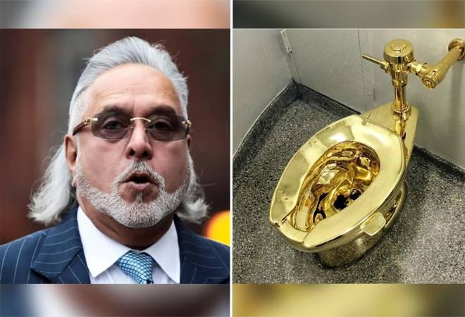 Even after seeing his business turn upside down and the Indian  authorities desperately pushing for his extradition, Mallya's London  home has all the worldly luxurious things one can imagine, one of which  is a golden toilet.