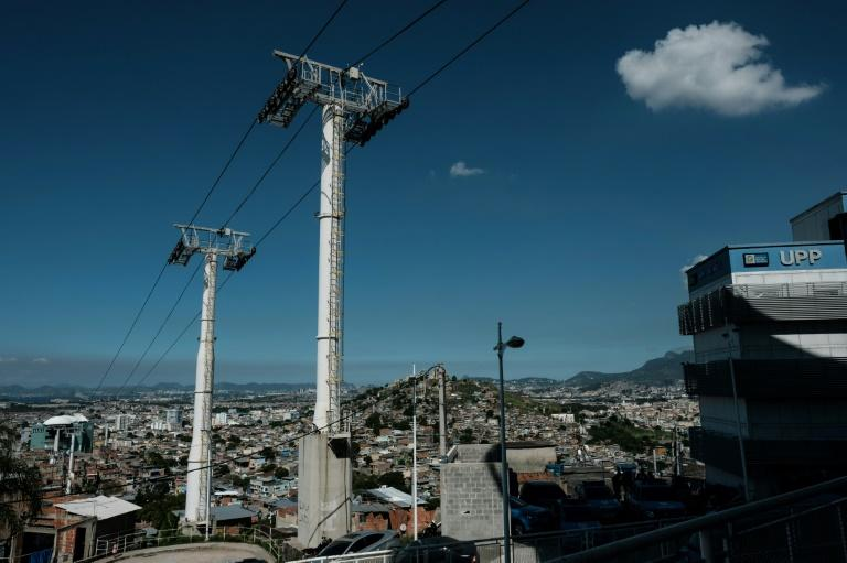 The six-station mass transit gondola system spanning the Complexo de Alemao favela in Rio de Janeiro was hugely popular with local residents who could get around without negotiating Alemao's tortuously steep, narrow streets