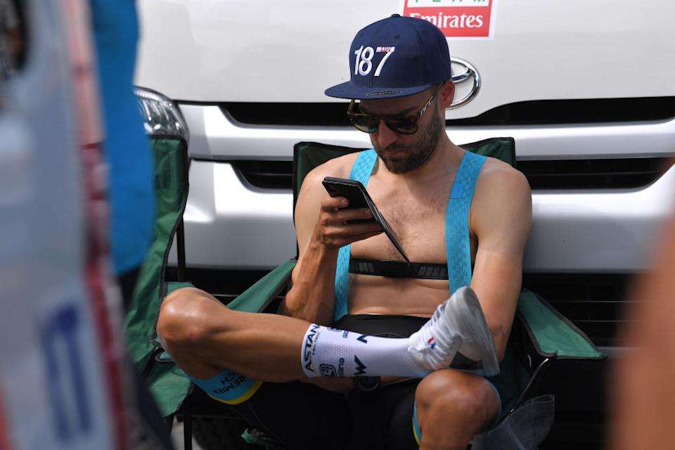 Laurens De Vreese was relaxed before the stage