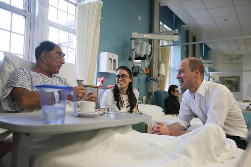 Prince William is particularly dedicated to charities involving young people and mental health awareness. Photo: Getty