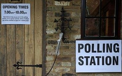 A polling station in Fleet - ADRIAN DENNIS/AFP/Getty Images