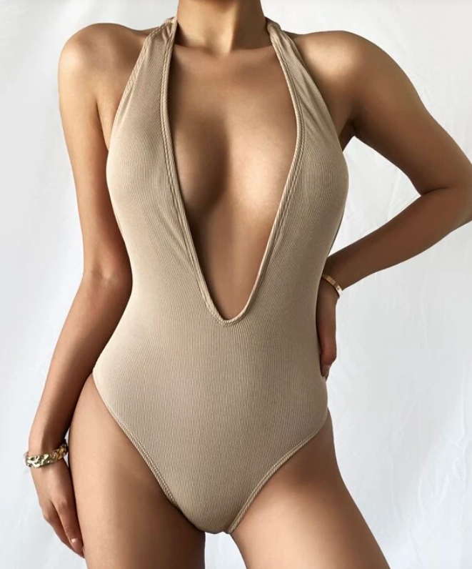 Shein nude swimsuit