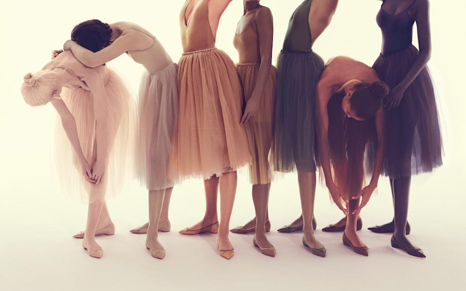 Christian Louboutin's nude collection