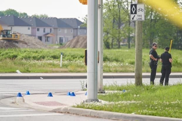 Police investigate after four family members died, and a nine-year-old remained in hospital Monday, a day after the pickup truck attack.