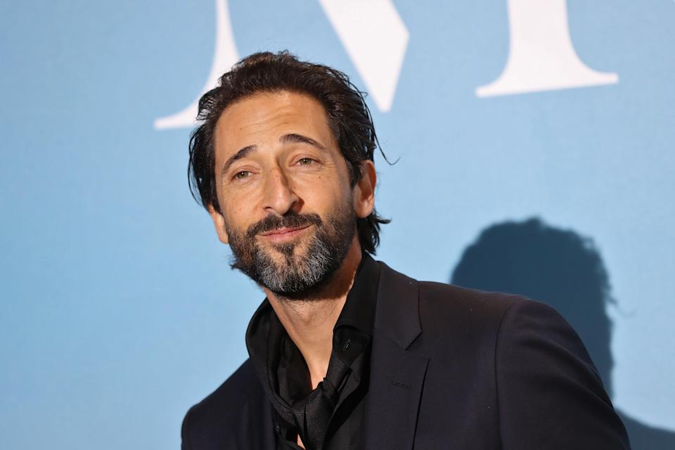 Adrien Brody poses upon his arrival at the 2nd Monte-Carlo Gala for the Global Ocean 2018 held in Monaco on September 26, 2018 (AFP via Getty Images)