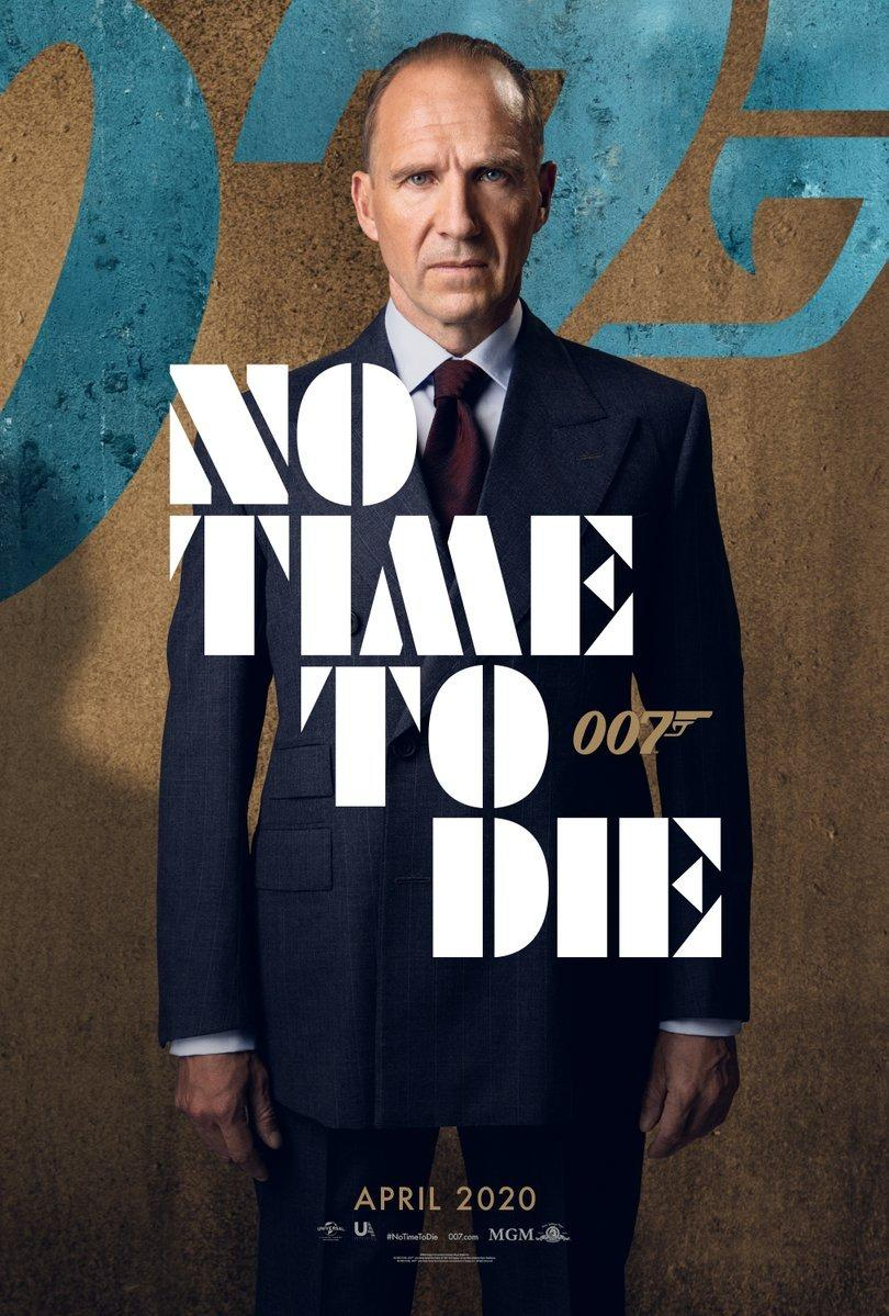 Ralph Fiennes returns as M in <em>No Time To Die</em>, his third James Bond film since joining the series for 2012's <em>Skyfall</em>. (Universal/MGM/Eon)